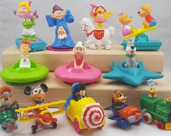 DESTASH Vintage Toy Figurine Lot of 12