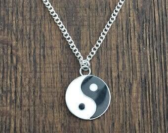 Yin Yang Necklace  Ref DB6