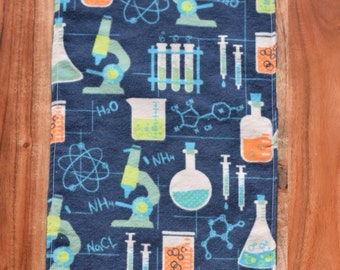 2 Science Is Cool Burp Cloths