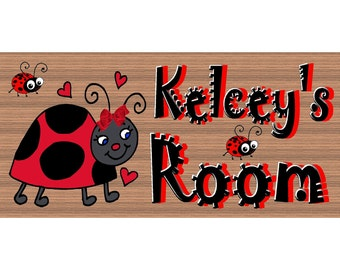 Personalized Wood Signs - Childs Room Room GS 2566 (Include Name with Your Order)