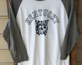 Kentucky Wildcat Raglan Tee / Kentucky Wildcat Baseball Tee