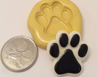 Dog Animal Paw print Silicone Mold
