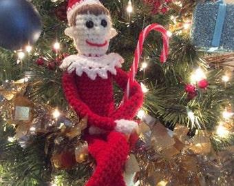 Christmas Elf, Elf, Crochet Elf, Christmas