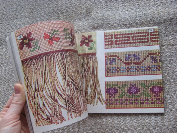 Retro fashion needlework book embroidery for women s