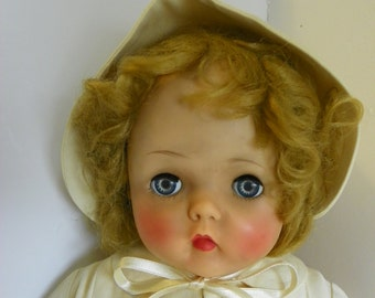 Vintage Madame Alexander baby doll Rosebud from the 50's
