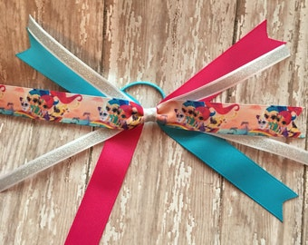 Shimmer and Shine Hair Bow - Shimmer and Shine Birthday - Shimmer and Shine Party - Shimmer and Shine Bow