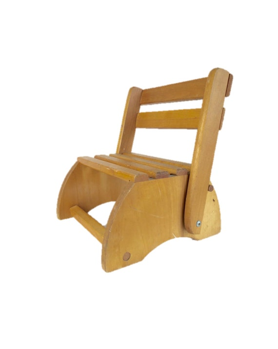 Convertible Chair And Step Stool Folding