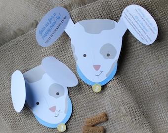 Puppy Paw-ty Personalized Printable Invitation - kids party, childrens birthday, dog, puppy, dog party, animal party, birthday, kids
