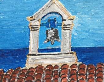 Church Bell of Chania, Crete Island, Greece
