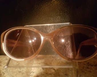 Vintage Lady's Balenciaga Sunglasses Frames Hand Made In France