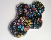 Stained Glass Minky Topped Cloth Pads ~ Mama Cloth ~ Cloth Menstrual Pads ~ Cloth Incontinence Pads ~ Reusable Cloth Pads ~ Sanitary Pads