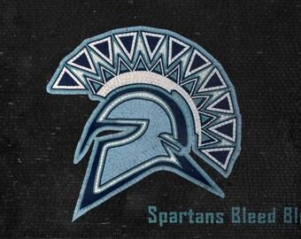 Mosaic Design - Spartans Blue