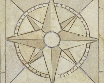 Nautical Theme Mosaic - Delphin