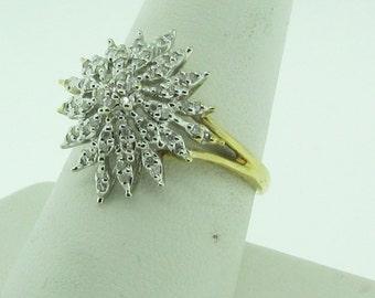 Vintage ladies diamond ring.
