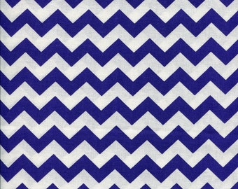 Chevron Zig Zag Purple Fabric