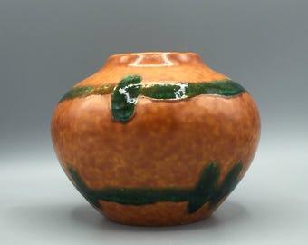 Jasba Keramik  111 - 12 vintage Mid Century Modern, Rare  1960s ceramic vase  -   West Germany Pottery WGP.