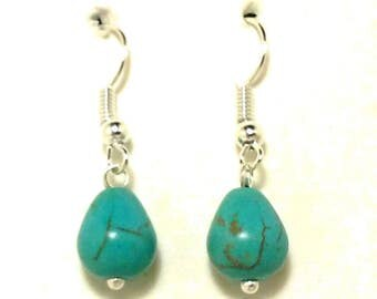 Magnesite Gemstone Earrings