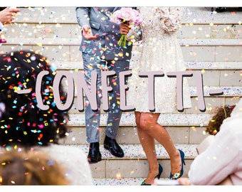 25 Confetti Photoshop Overlays: Glitter Photo layer, Bokeh blow magic Pixie dust effect, Marketing board wedding and mini Sessions