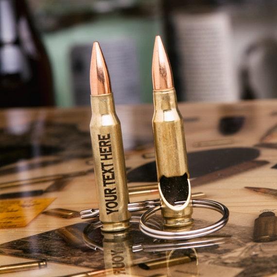 boyfriend gift engraved bullet bottle opener keychain made. Black Bedroom Furniture Sets. Home Design Ideas