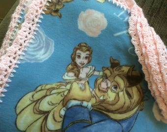 Beauty and the Beast Blanket