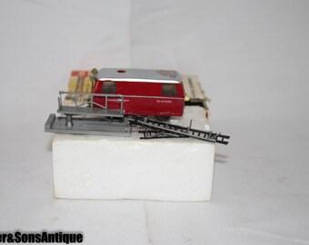 Vintage Brawa Train Car w/ Original box kleinturmtriebwagen