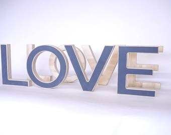 LOVE marquee letter