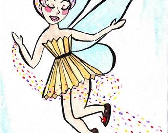 Cupcake Fairy Fine Art Print