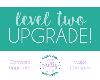 Upgrade It! Level Two Add-on for extra customization to any item
