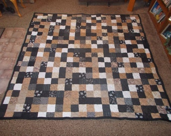 Custom Made Quilt - Patchwork Quilt - King Size Quilt - EVERYTHING SUPPLIED