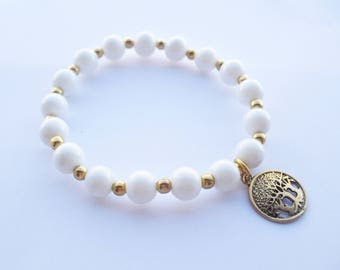 Tree of Life bracelet.