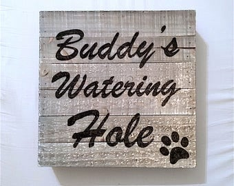 Personalized Wood Signs | Rustic Signs | Custom Wood Signs | Pet Signs | Hand-Burned