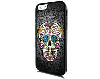 Sugar Skull iPhone 6 Case-iPhone 6 Plus