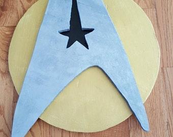 Handmade Star Trek Logo