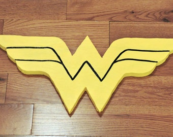 Handmade Wonder Woman Logo