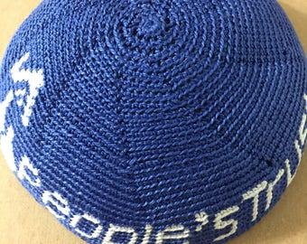 Custom logos hand crochet