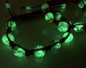 20 Black cord glow bracelets