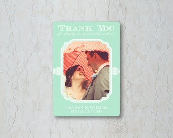 Classic Lace Thank You Card