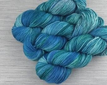 Take a Hike Sock Yarn - Deluge colourway