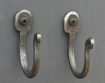 Coat Hooks, sold as a pair.