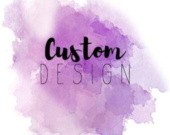Custom Temporary Tattoo - Set of 2