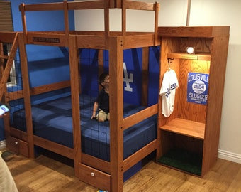 Custom baseball/sports bed- any size or style.