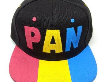 Pansexual Pride Flag Snapback Hat - LGBTQA+