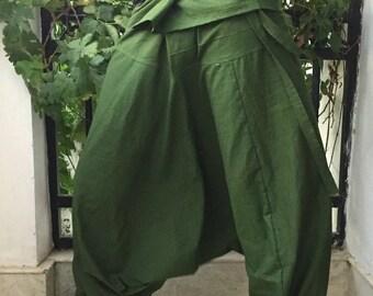 Baggy Pants Drop Crotch Pants Loose Pants Gypsy Pants Baggy Trousers low crotch