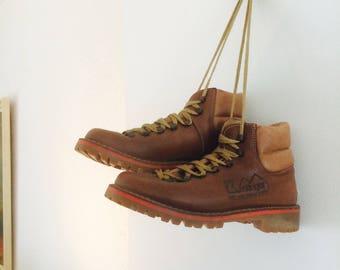 Vintage boots | kastinger boots| wandelschoenen| vintage shoes| 70s boots| deadstock boots| walking boots| size 37.5| size 4.5|size 6