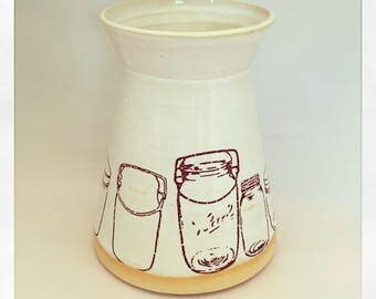 Masson Jar Large Vase