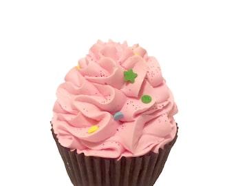 Sorbet Cupcake Bath Bomb