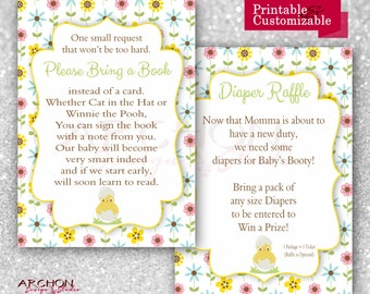 Easter Chick Baby Shower Invitation Wording on Back/Insert - Printable & Personalized - A-00021