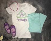 Disney Princess | Embroidered Shirt or Onesie | Belle | Ariel | Cinderella | Elsa | Aurora | Snow White | Quotes