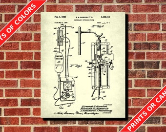 Medical Patent Print, Medical Poster, Medical Infusion System, Doctor Gift, Nurse Gift, Medical Student, Waiting Room Decor
