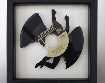 Led Zeppelin 'Immigrant Song' Swan Song Vinyl Record Art